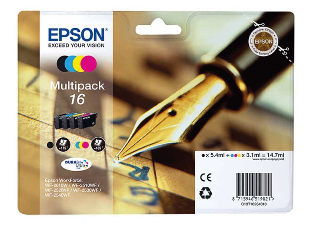Epson Original - EPSON WorkForce WF- 2630 (16/c13t16264020 ...
