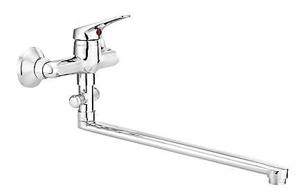 rubinetto per vasca da bagno con sbocco da 32 cm, con deviatore ... - Rubinetti Per Vasca Da Bagno