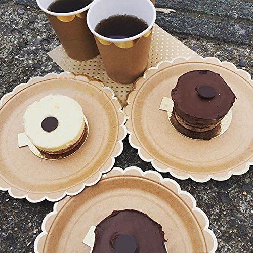 44pcs/lot Wedding Disposable Plates and Cups Party Dinnerware Set Decorative Paper Tableware for Birthday Supplies (Brobee Costume Toddler)
