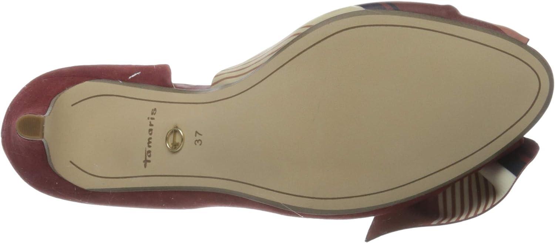 Tamaris 1-1-29300-24 Scarpe col Tacco Punta Aperta Donna