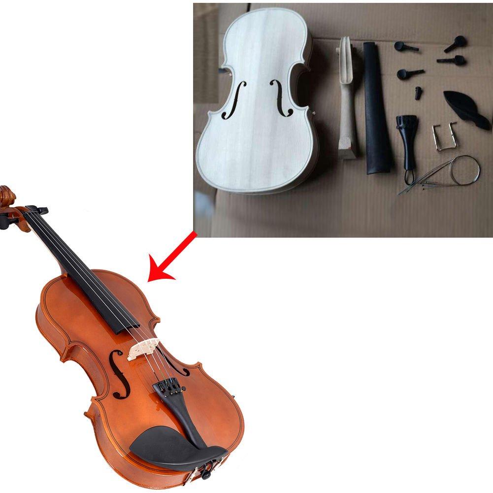 Violín para hacer gran regalo/hogar Hobby Idea todos los accesorios incluidos: Amazon.es: Instrumentos musicales