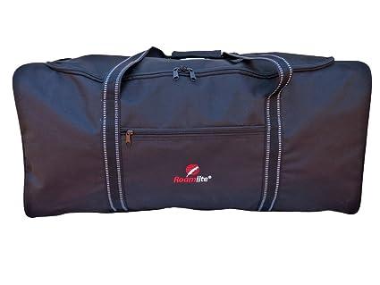 Sac Voyage De Stockage Fourre-Tout Cargo De Nuit Cadenassable Sport Noir Léger Large 75cm 100 Litres HMembp