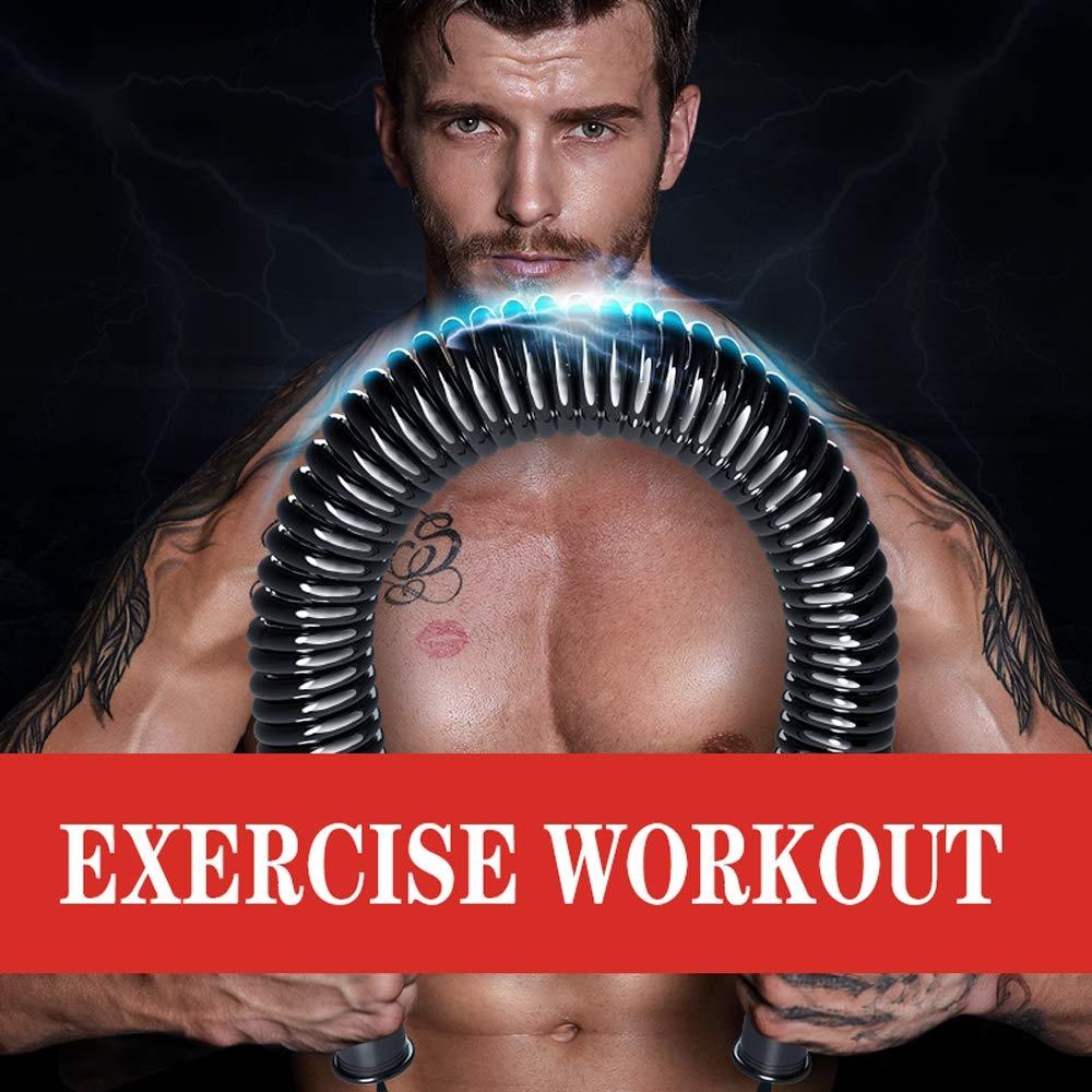 Power twister Barre /à Ressort avec r/ésistance 70//80//90 kg,Accessoire de renforcement Musculaire Professionnel pour pectoraux et Bras Muscles Fitness Appareils Bras