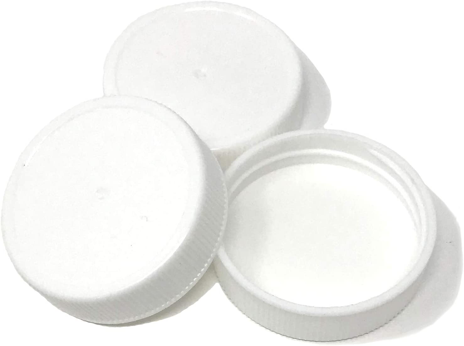 NiceBottles - Screw Caps, 38/400, White - Pack of 20 - Compatible with NiceBottles 12oz Beverage/Sauce and Gallon Jugs
