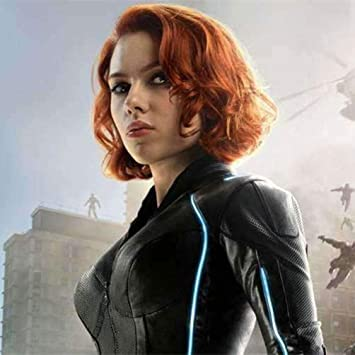 Amazon Com Cosplay Wig Movie The Avengers Natasha Romanoff