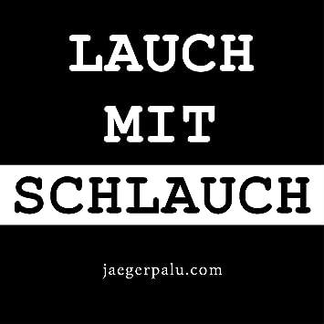Jägerpalu Lauch Mit Schlauch Aufkleber Din A6 20er Paket Sticker Fun Witzig Ballermann Après Ski