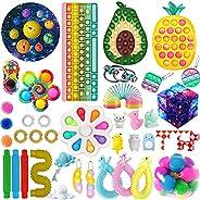 NINGJING Fidgets, Fidget Toys with Keyboard Pop, Cheap Fidget Toy Pack, Figetget Toy Pack, Fidget Pack with Po