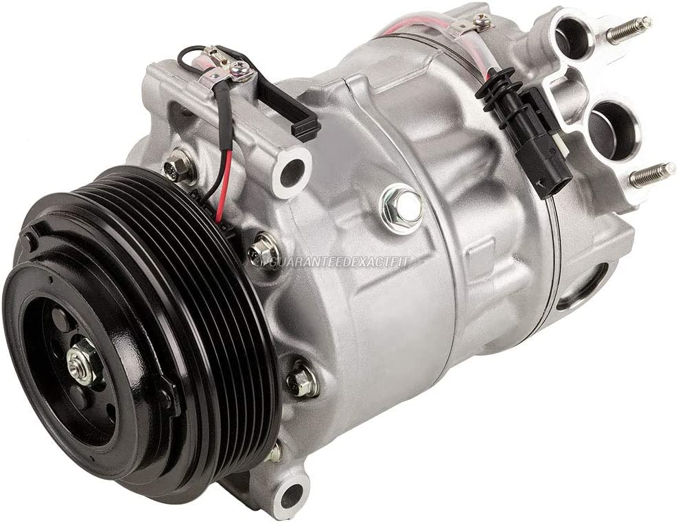 BuyAutoParts 60-89632R2 New For Land Rover Range Rover LR4 Range Rover Sport AC Compressor w//A//C Drier