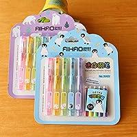 Katoot@ Kawaii Sweet Cake Shaped Fountain Pen set Cute Mini Pocket pen Kids gift Korean stationery school office supplies escolar