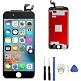 iPhone 6s Screen Replacement,iPhone 6s LCD Screen Digitizer Replacement Frame Assembly Set (4.7 inch) (Black)