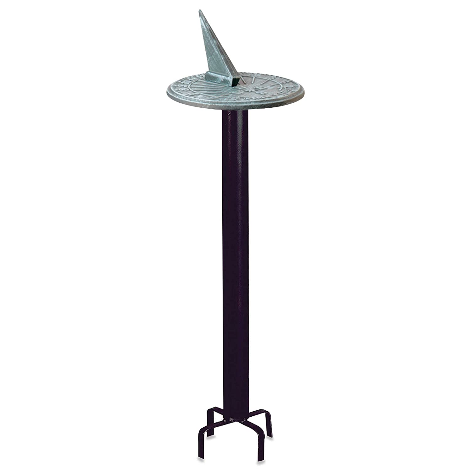 Rome Industries Black Classic Pedestal Sundial Base Rome Industries®