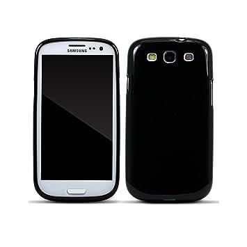 Funda Samsung Galaxy S3 Carcasa Samsung Galaxy S3 Negro Silicona Caso