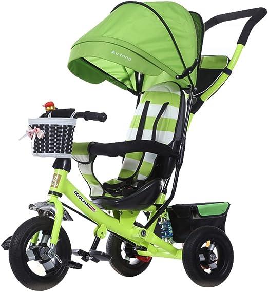 Lujo 4 en 1 Triciclo de niño Bicicleta de niño Bicicleta de niña en 6 meses