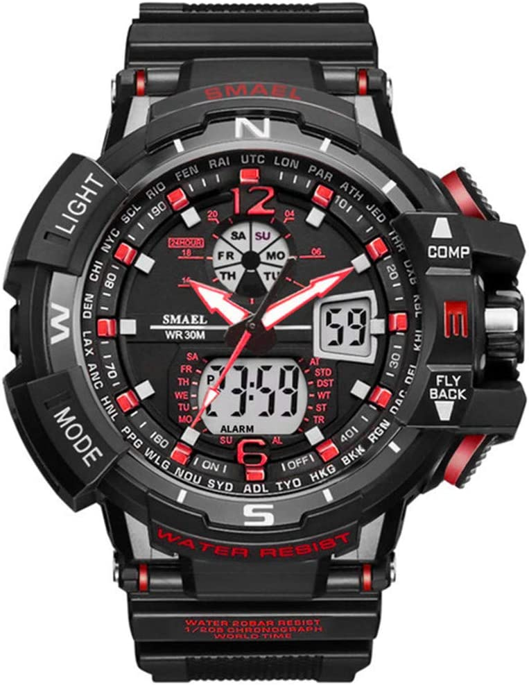 SW Watches Relojes Sport Men Reloj Marca Shock Reloj De Hombre ...