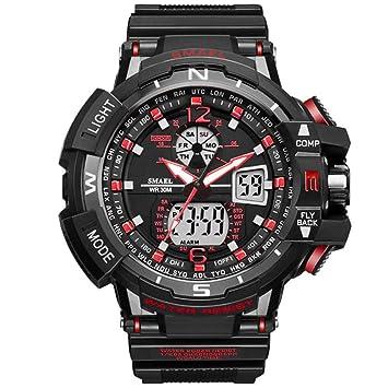 50525b2f4ae Sw watches relojes sport men reloj marca shock reloj de hombre cuarzo  digital relojes led hombres