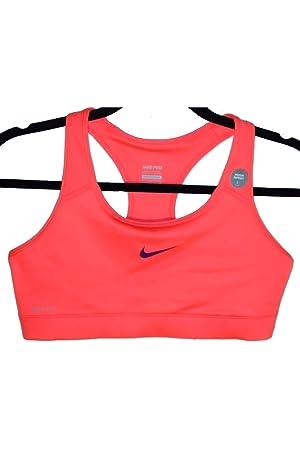 Sujetador deportivo Nike Pro Classic para mujer (X-Large) (Neon ...