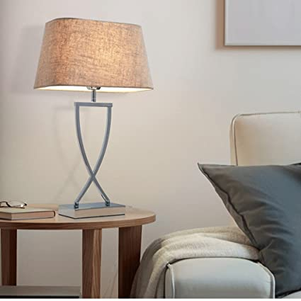 Amazon.com: LQQFFTable lamp Next to The Modern Living Room Bed ...