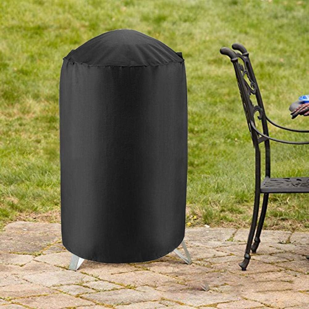 Cypressen Housse Barbecue, Barbecue 210D BBQ Couverture de Gril Heavy Duty Gaz Bache Barbecue de Protection BBQ Couverture Anti-UV Imperméable 3 Tailles Noir 24 * 28,5 Pouces