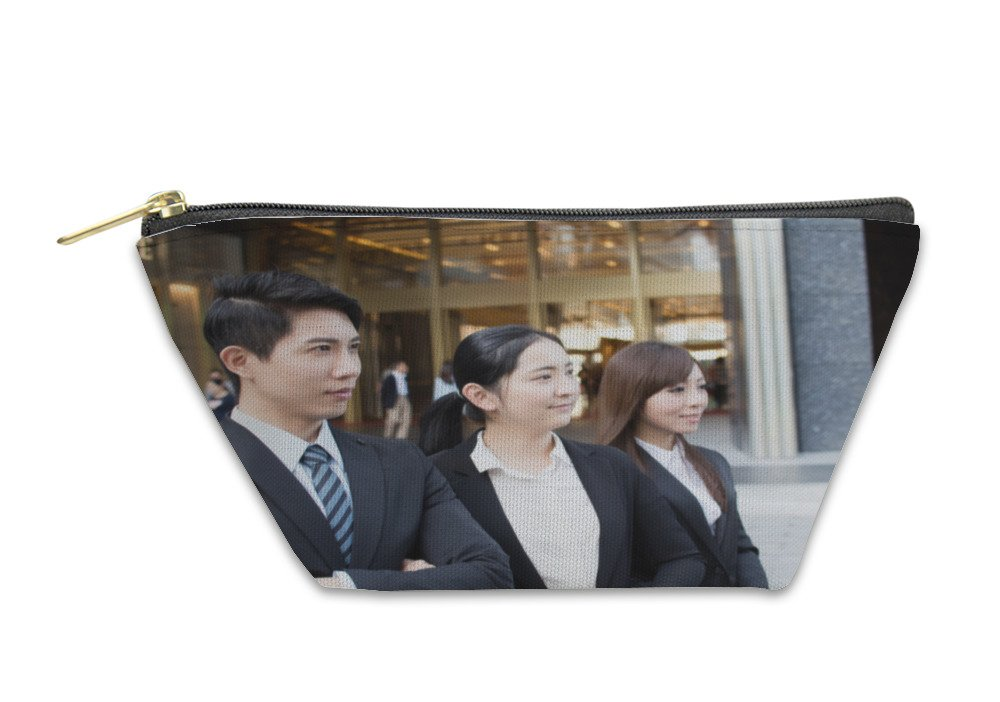 Gear New Accessory Zipper Pouch, Asian Business Team, Large, 5896792GN