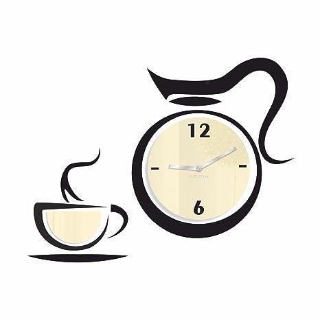 Reloj De Pared En Un Moderno Diseño reloj de cocina serie Gusto Beige