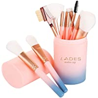 Makeup Brush Sets - 12 Pcs Makeup Brushes for Foundation Eyeshadow Eyebrow Eyeliner...