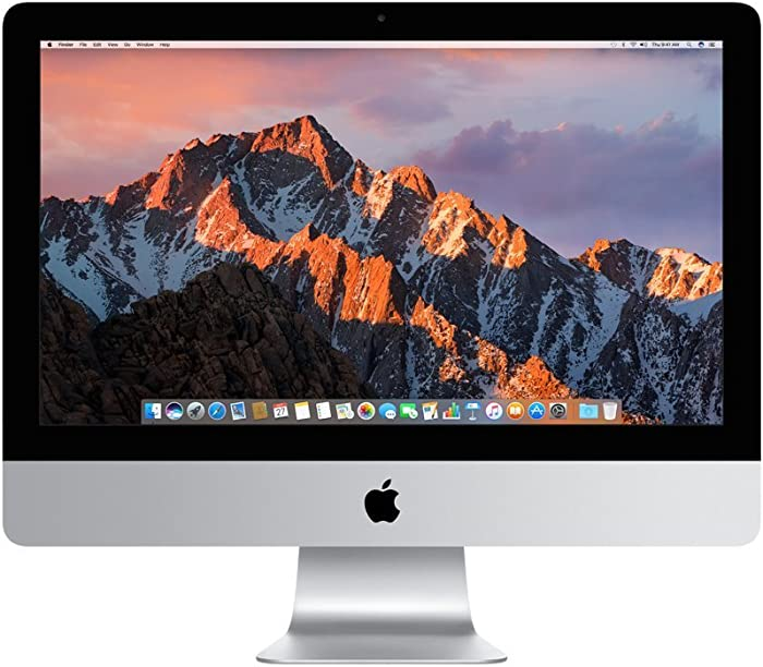 Apple iMac MNDY2LL/A 21.5 Inch, 3.0GHz Intel Core i5, 8GB RAM, 1TB HDD, Silver (Renewed)