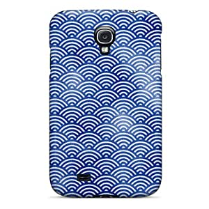 For Galaxy S4 Tpu Phone Case Cover(seigaiha)