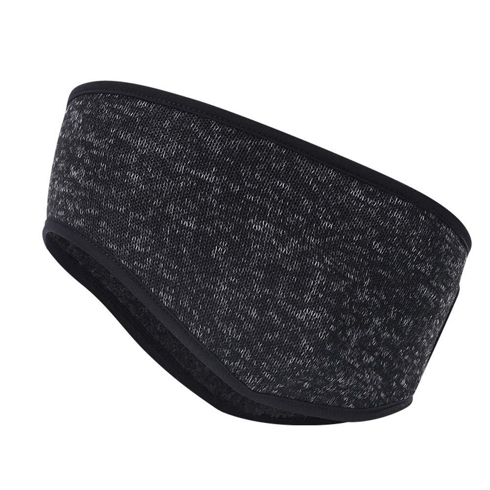 SunBeter Winter Ear Warmer Stretch Sport Headband Ear Muffs with Ponytail  Hole for Women for Running ecd0b4d6fa7