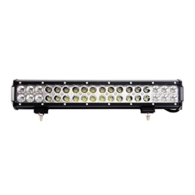 "LED Light Bar, Northpole Light 17"" 108W Waterproof Cree Spot-Flood Combo LED Light Bar, LED Off Road Lights, Driving Fog Light with Mounting Bracket for Off Road, Truck, Car, ATV, SUV, Jeep: Automotive [5Bkhe0408764]"