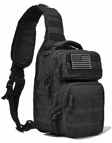 913453d3b71 REEBOW GEAR Tactical Sling Bag Pack Military Rover Shoulder Sling Backpack  Molle Assault Range Bag Everyday