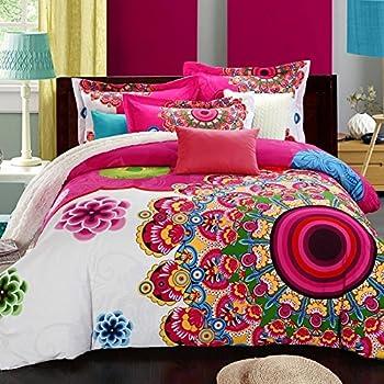 Amazon Com Fadfay Home Textile Boho Style Bedding Set