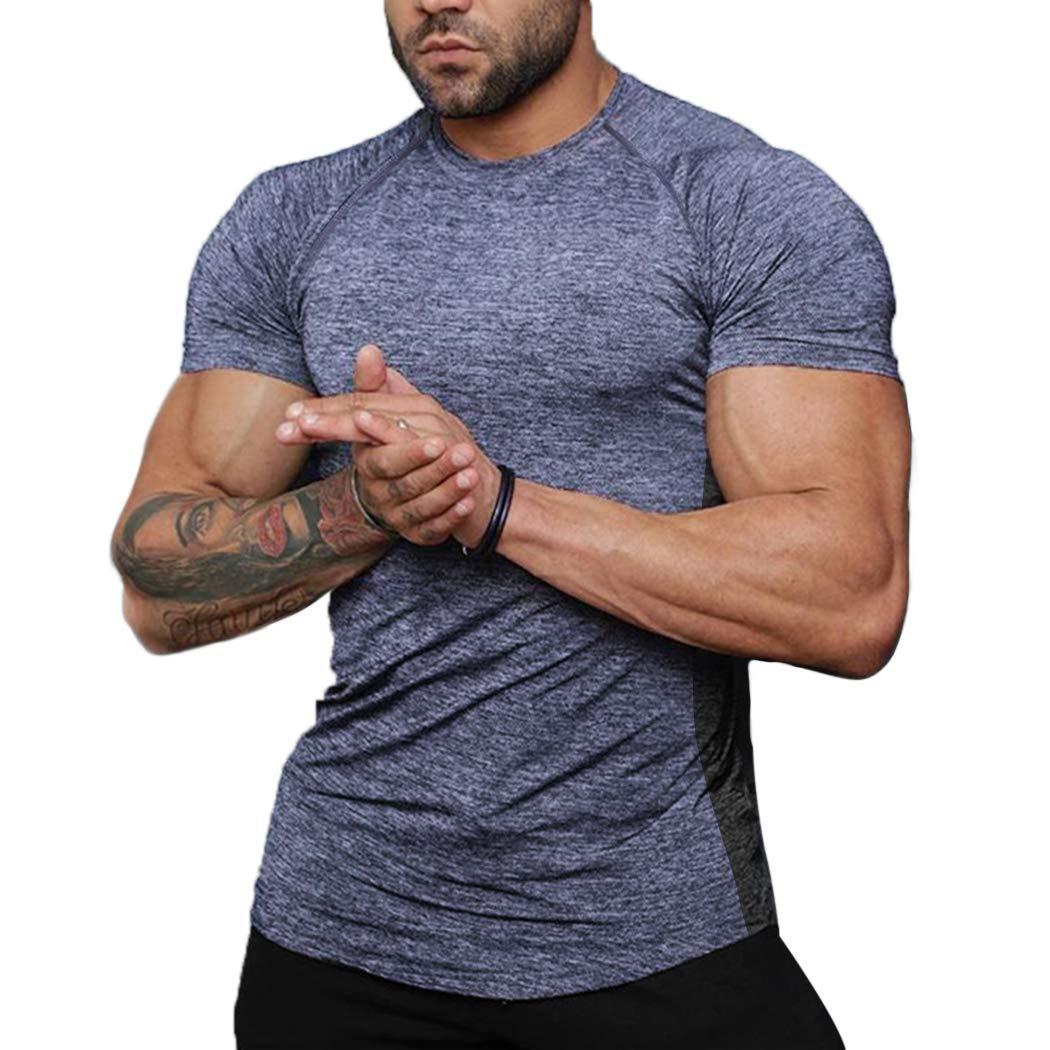 COOFANDY Men Raid Fitness Cool Dry Moisture Wicking Activewear Jersey Tee Shirt