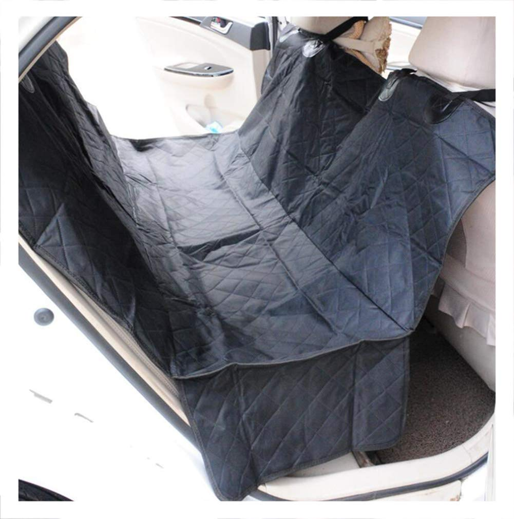 BlackC 147X135CMBYCDD Dog Back Seat Cover Predector, Waterproof Cover Predector Scratch Proof Nonslip Pet Seat Covers Universal Size Hammock Congreenible,BlackA_147X135CM