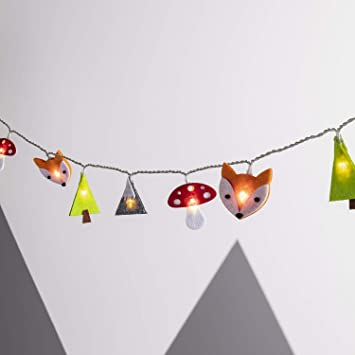 Lights4fun Guirlande Lumineuse Enfant en Feutre à Piles: Amazon.fr ...