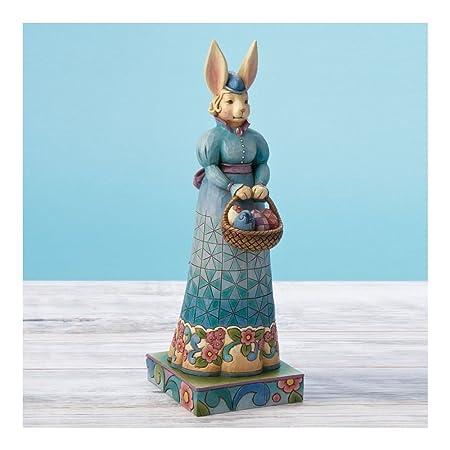 Enesco Jim Shore Mrs Rabbit with Eggs 4015498