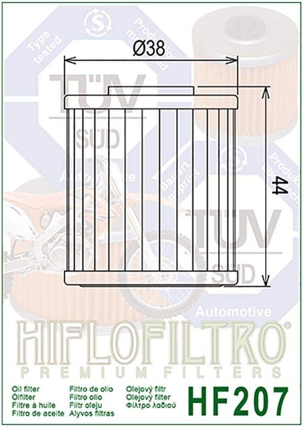 /Ölfilter Hiflo RM-Z 450 RL42A 08-16