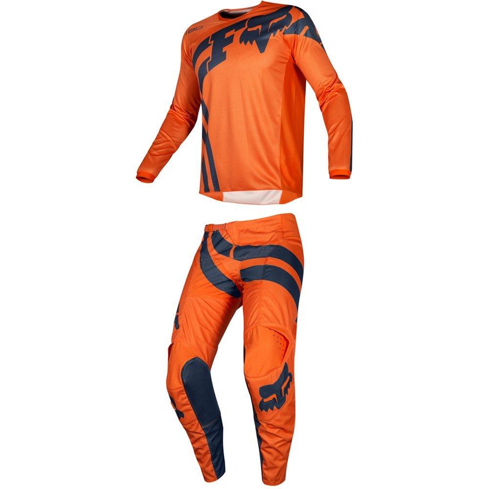 Fox Racing 2019 180 COTA Jersey and Pants Combo Offroad Gear Set Adult Mens Orange Medium Jersey/Pants 30W