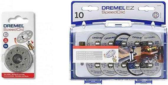 Dremel Sc545 - Disco de Corte de Diamante Ø 38,0 Mm + 2615S690Ja ...