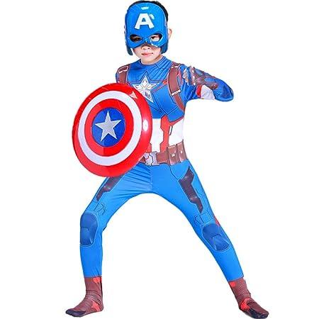 BLOIBFS Disfraz Capitán América para Niño Disfraces Y ...
