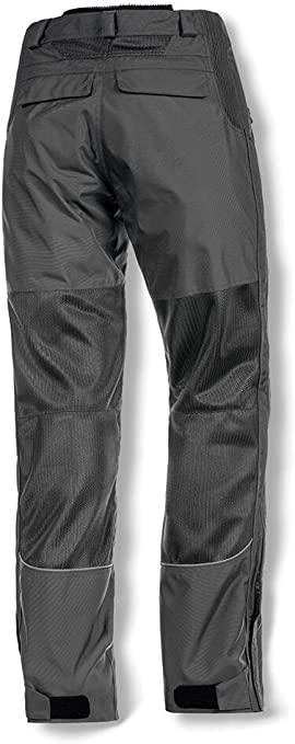 Pewter, Size 34 Olympia Moto Sports MP412 Mens Airglide 4 Mesh Tech Pants