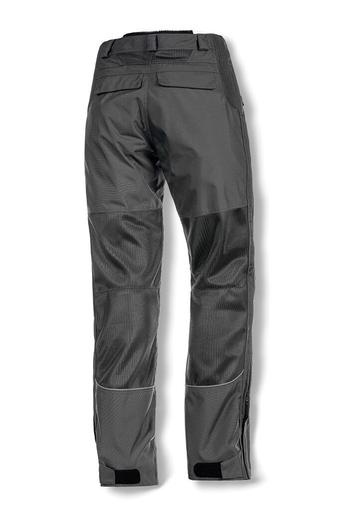 Olympia Moto Sports MP412 Mens Airglide 4 Mesh Tech Pants Pewter, Size 38