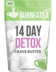Burnfatea 14 Day Crave Buster Tea (Strawberry Rhubarb Flavour)