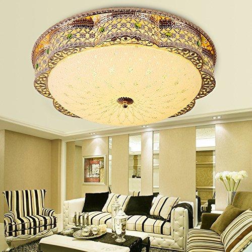 Vintage Decke Licht Schatten Retro Deckenleuchte Modern für Flur, Schlafzimmer, Küche, Kinderzimmer, Wohnzimmer 380 mm  24 W