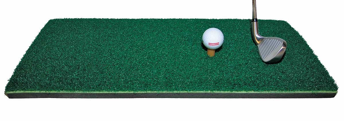 Pro Grade, Heavy-Duty Driving Mat, 1-1 4 Thick with 1-Rubber Tee Shipped Flat