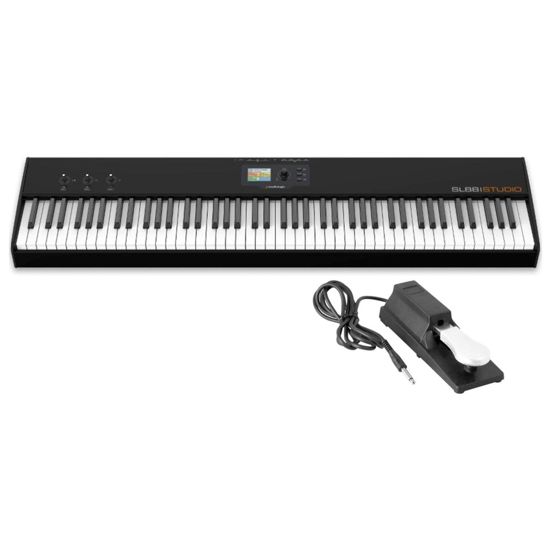 Studiologic SL88 Studio 88-Note Hammer Action Keyboard MIDI Controller w/ Sustain Pedal by Studiologic