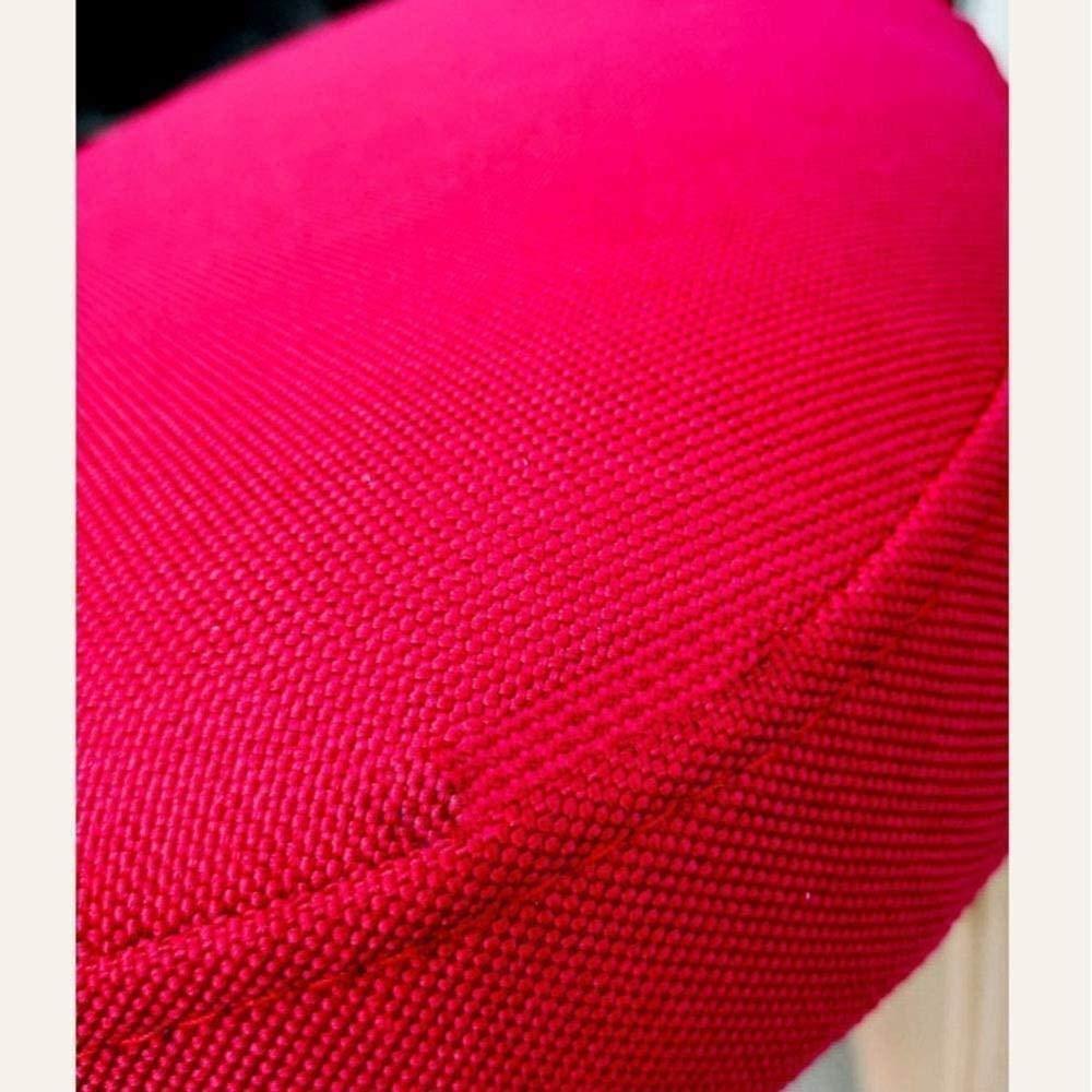 Justerbar student anti-puckel knästolar barn korrigerande hållning stol pall lindrar rygg linne tyg knästol (färg: Brons) BEIgE