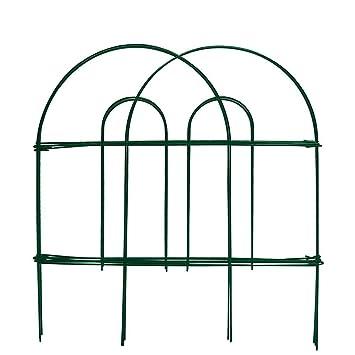 amagabeli 18 pulgadas por 50 pies inoxidable verde valla de jardín césped borde vallas jardín frontera valla de alambre valla del jardín - jardín de valla ...