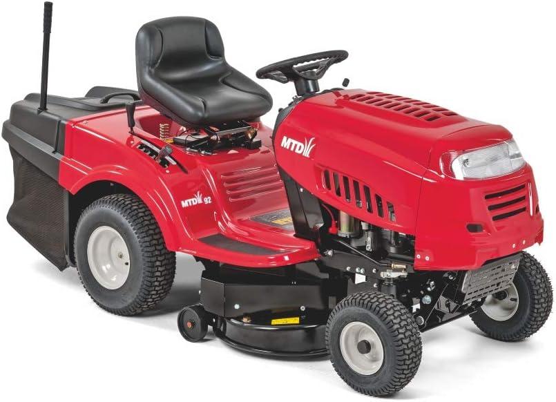 MTD MTD92 Tractor cortacésped 92. Motor, Starter, 382 CC, Rojo