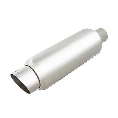 DC Sports EX-5010 Stainless Steel Muffler: Automotive