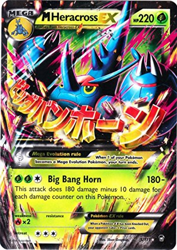 Pokemon M Heracross Ex Furious Fists 5/111